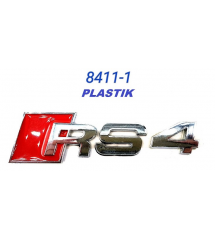 Емблема RS 4 Пластмасова