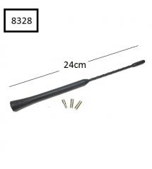 НАКРАЙНИК за антена къс - 24 см.