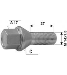 Болт норм. L27-M14x1.5-C-A17