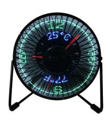 Вентилатор с декорация LED
