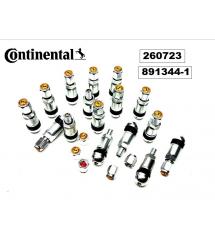 Вентили  Continental Сребрист 20 бр.