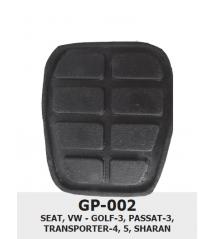 ГУМИЧКИ за педали -GP 002 -Golf 3 х 5бр. к-т