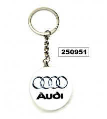 Ключодържател марка метален   Audi