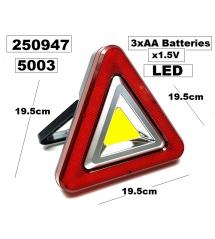 Триъгълник светещ LED