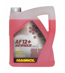 MANNOL ЧЕРВЕН АНТИФРИЗ Готов за употреба  до -40°C AF12+  5L