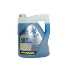 MANNOL СИН АНТИФРИЗГотов за употреба до -40°C AG11 5L