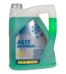 MANNOL ЗЕЛЕН АНТИФРИЗ Готов за употреба до -40°C AG13 5L