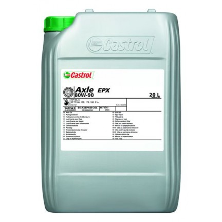 CASTROL EPX 80W90 AXLE 20L