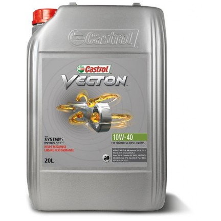 CASTROL VECTON 10W40 20L