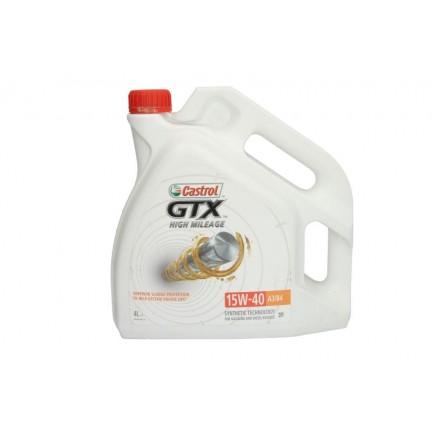 CASTROL GTX HIGH MILEAGE 15W40 4L